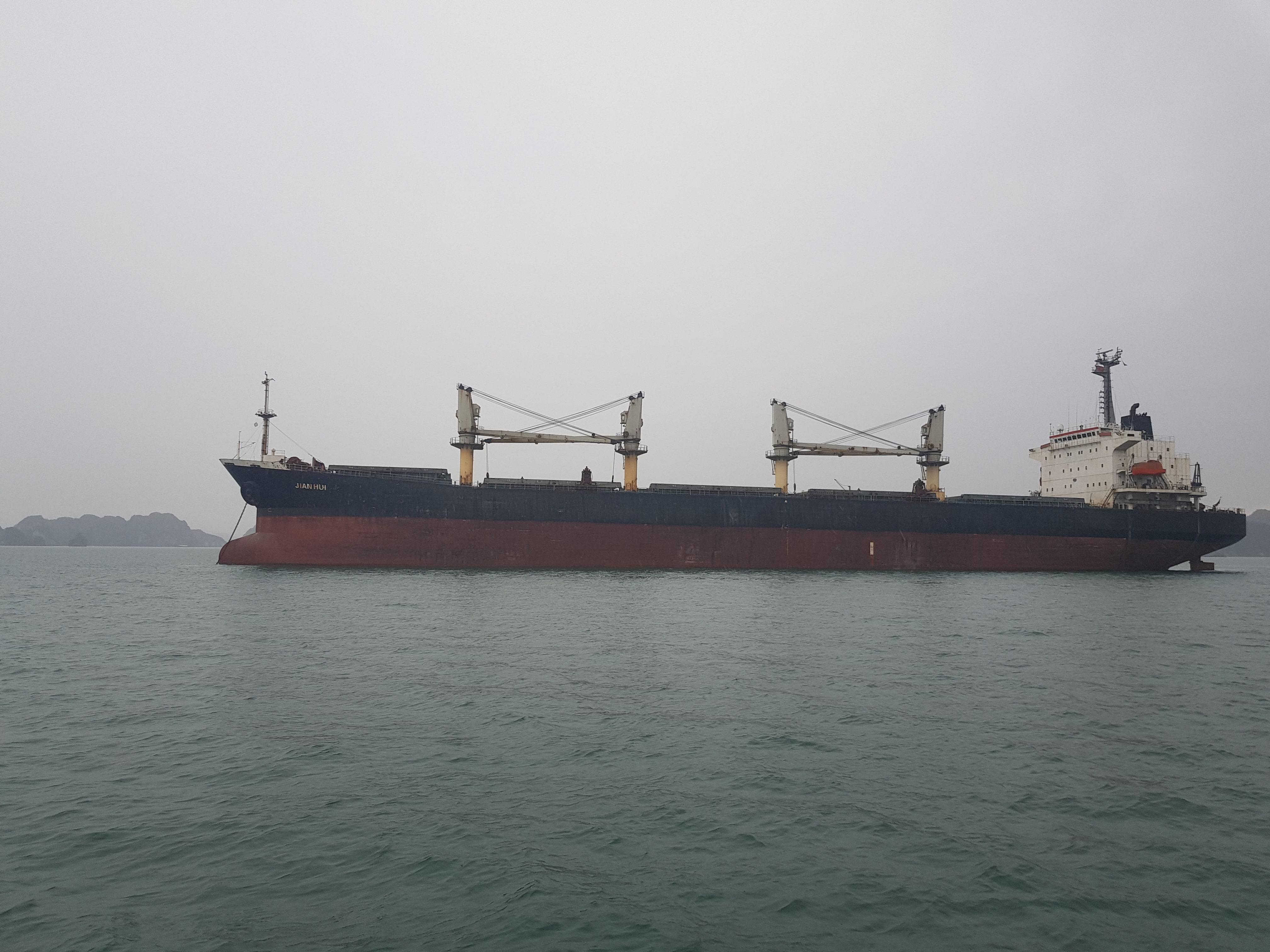 Xuất khẩu clinker tháng 04/2020 (M/V JIAN HUI)