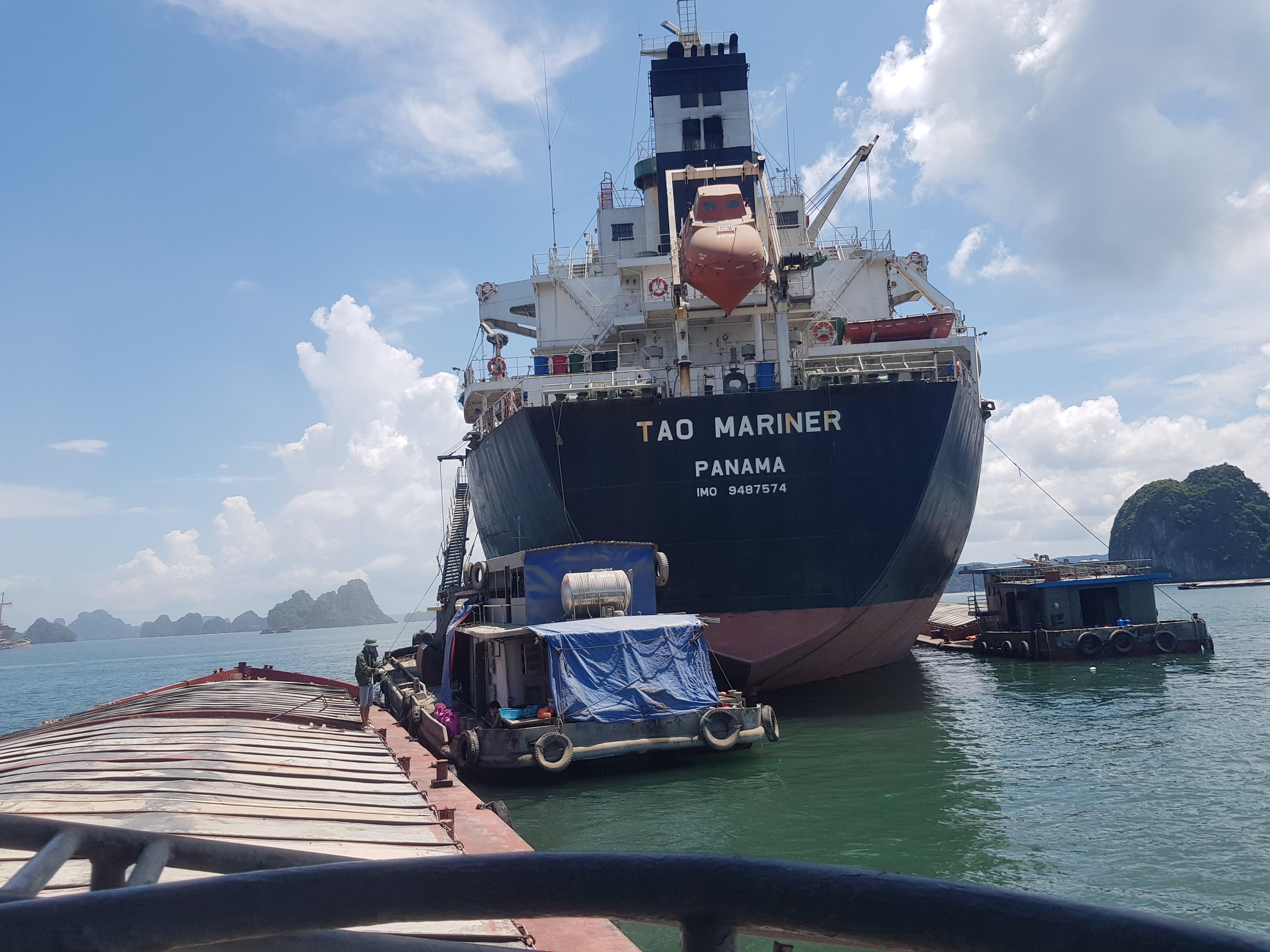 Xuất khẩu clinker tháng 9/2020 (tàu M/V TAO MARINER)