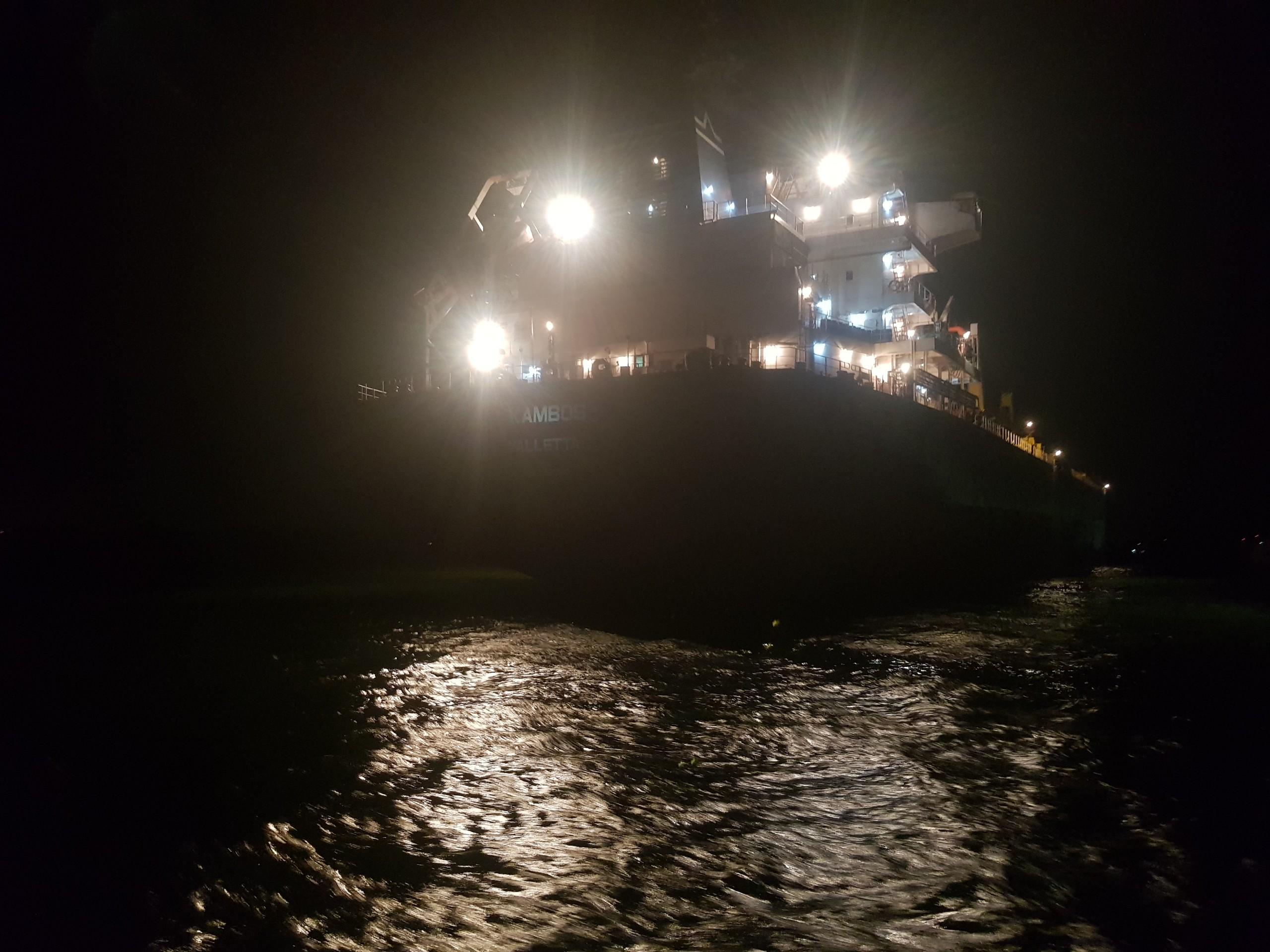 Xuất khẩu clinker tháng 10/2020 (tàu M/V KAMBOS)