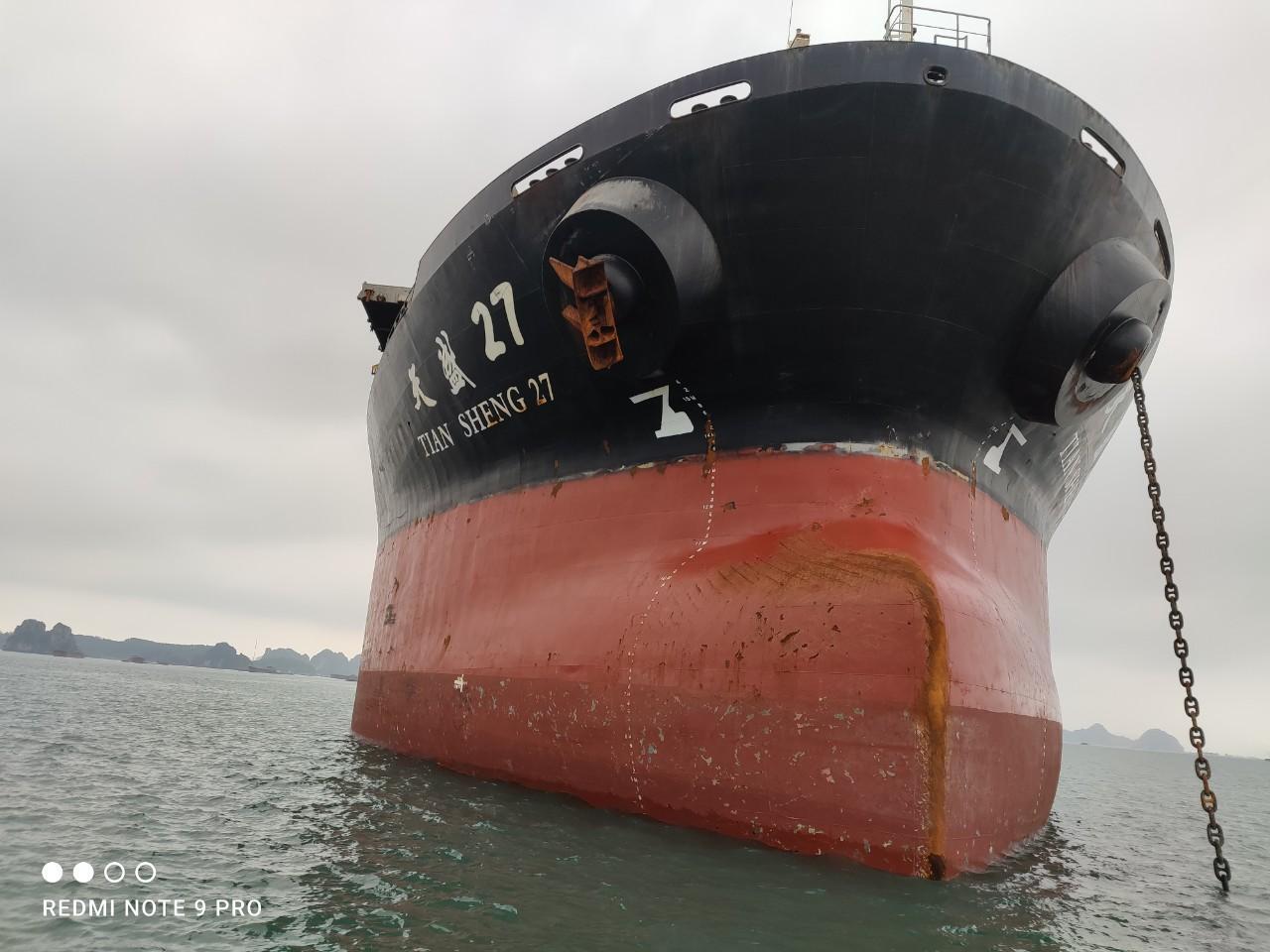 Xuất khẩu clinker tháng 03/2021 (tàu M/V TIAN SHENG 27)