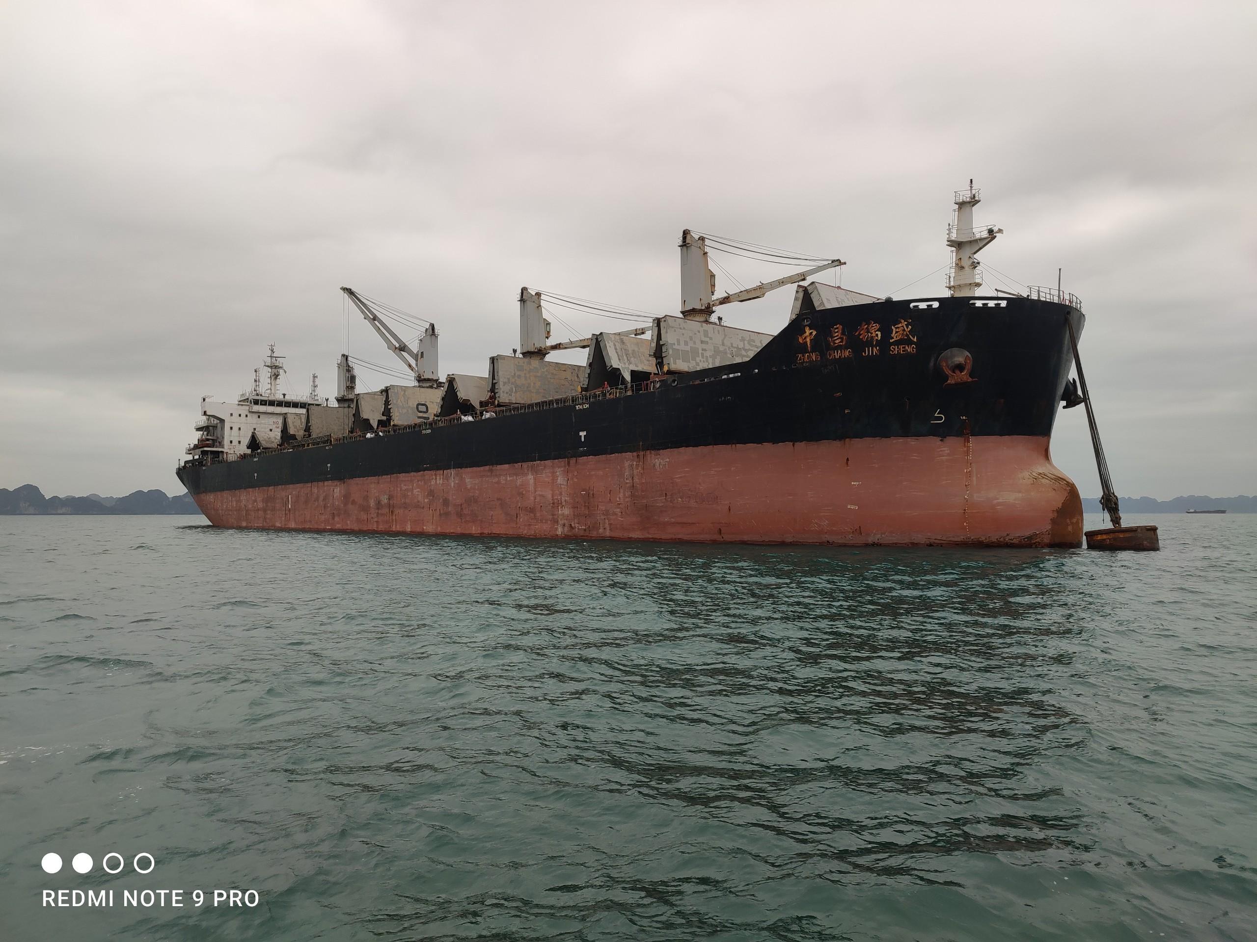 Xuất khẩu clinker tháng 03/2021 (tàu M/V ZHONG CHANG JIN SHENG)